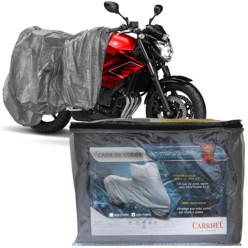 Capa Protetora Para Cobrir Moto (100% Impermeável) - M - RPC-COMMERCE