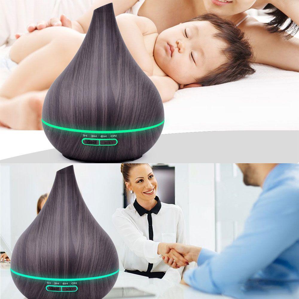 Aromatizador Umidificador Difusor De Aromas Elétrico luminária LED  - RPC-COMMERCE