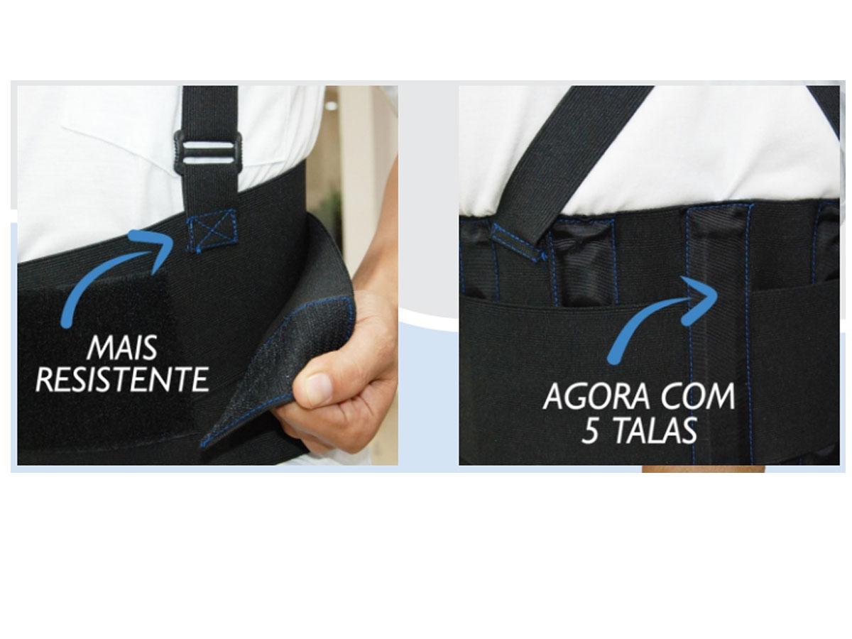 Faixa Postural Ergonômica para Coluna em Velcro Lavável - RPC-COMMERCE