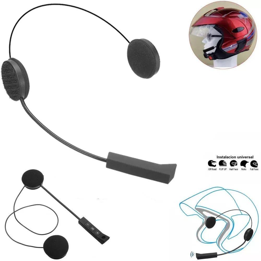 Fone de Ouvido Microfone Capacete Moto Bluetooth 4.0 edr Sem Fio - RPC-COMMERCE