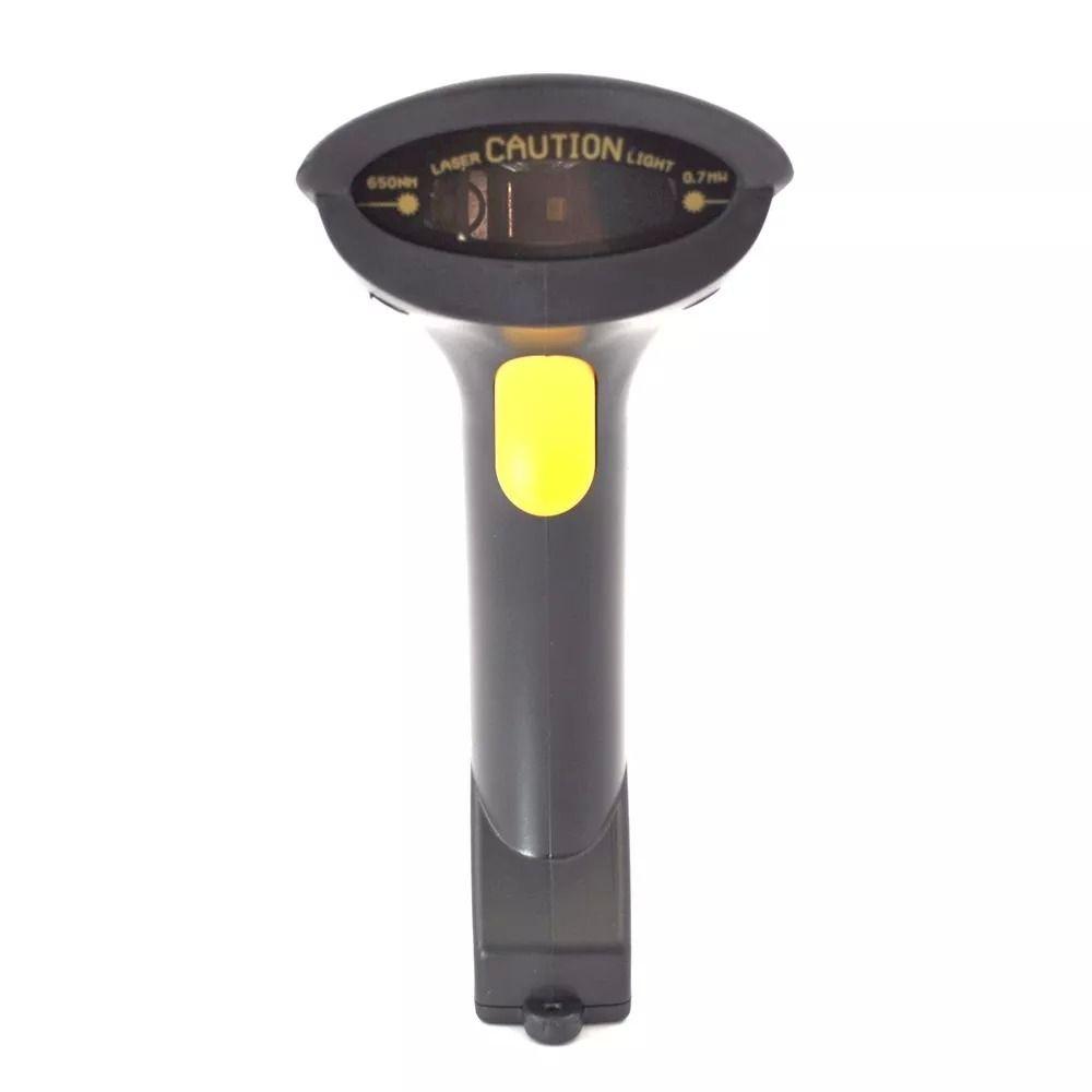 Leitor Scanner Código Barras Usb laser automático contínuo com Fio - RPC-COMMERCE