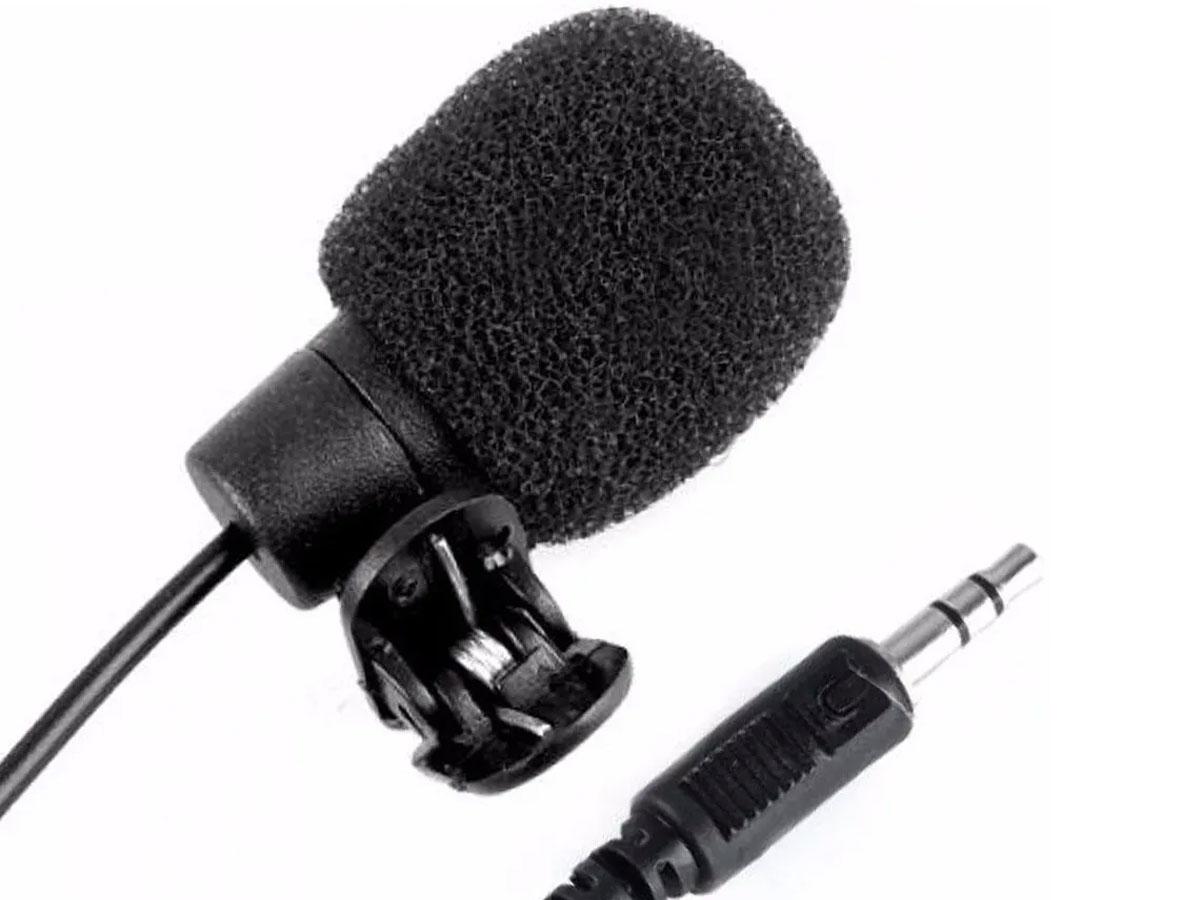 Microfone De Lapela P2 PC notebook Youtuber skype Zoom - RPC-COMMERCE