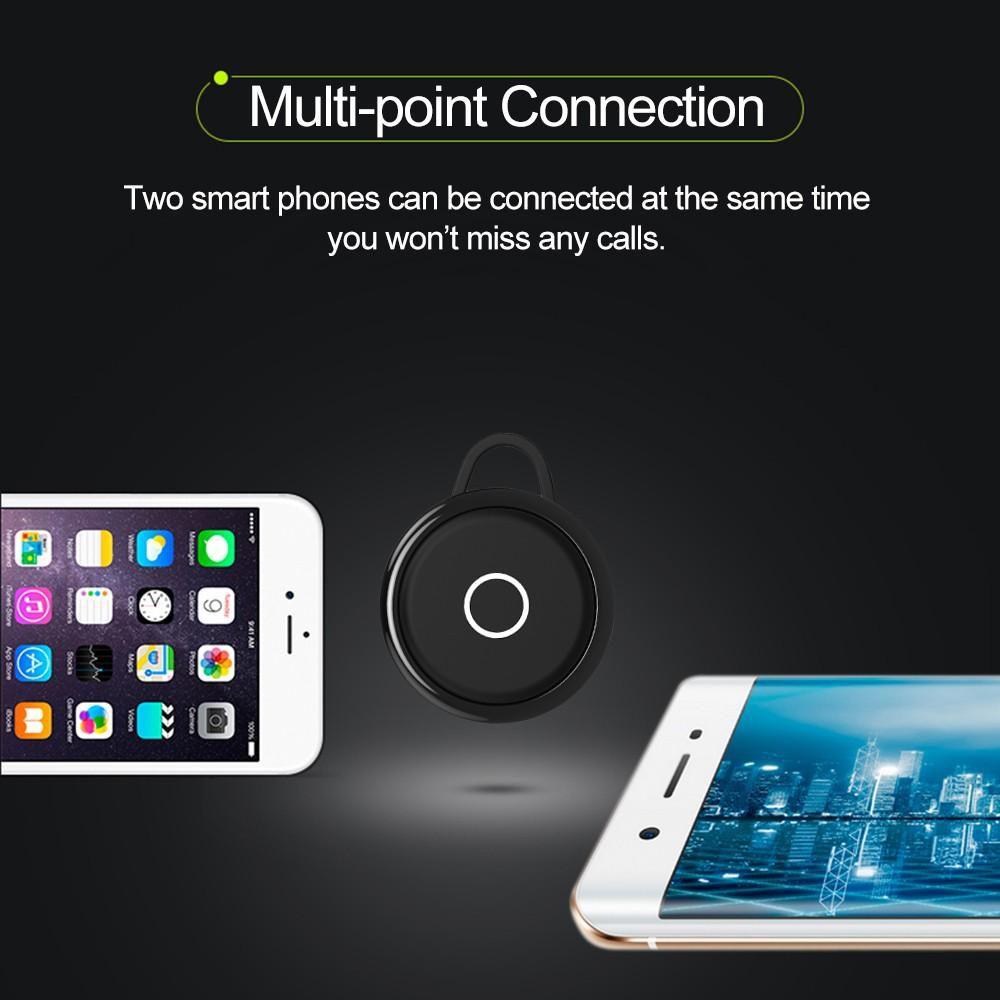 Mini Fones De Ouvido Bluetooth Headset T6 sem fio microfone - RPC-COMMERCE