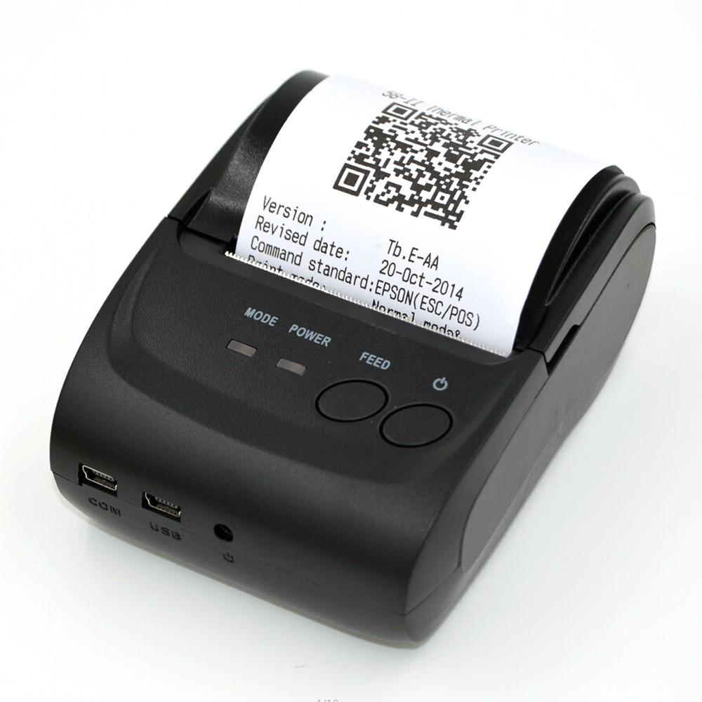 Mini Impressora Portátil Térmica Bluetooth Android Win. 58mm  - RPC-COMMERCE