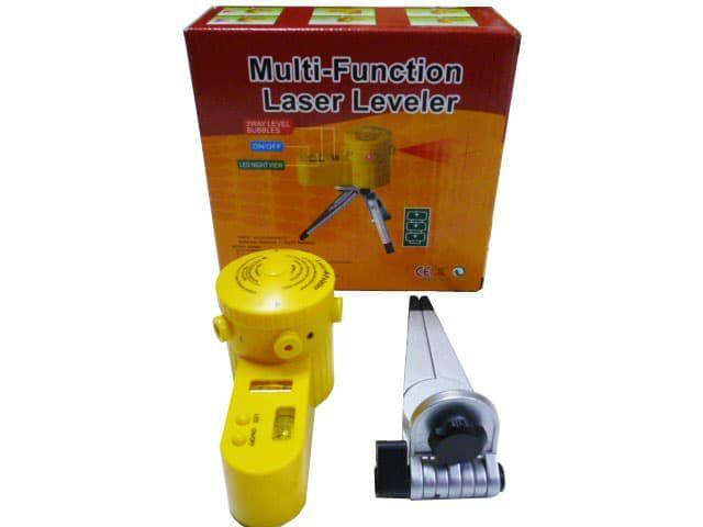 Nível Laser 360º Horizontal Vertical C/ Tripé Multi Funcional - RPC-COMMERCE