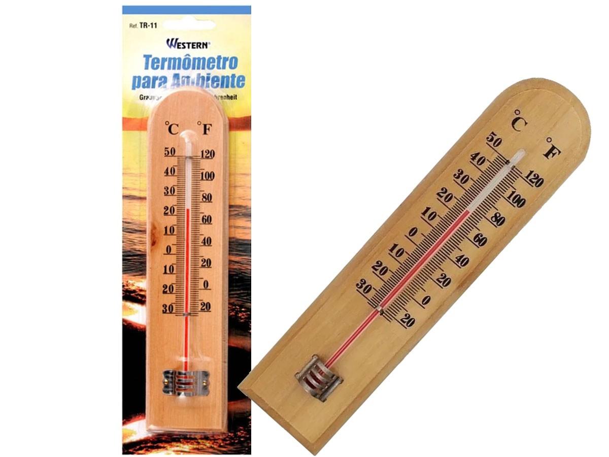 Termômetro para Sauna Seca e a Vapor (-30 a 50ºC) - TR-11 - RPC-COMMERCE