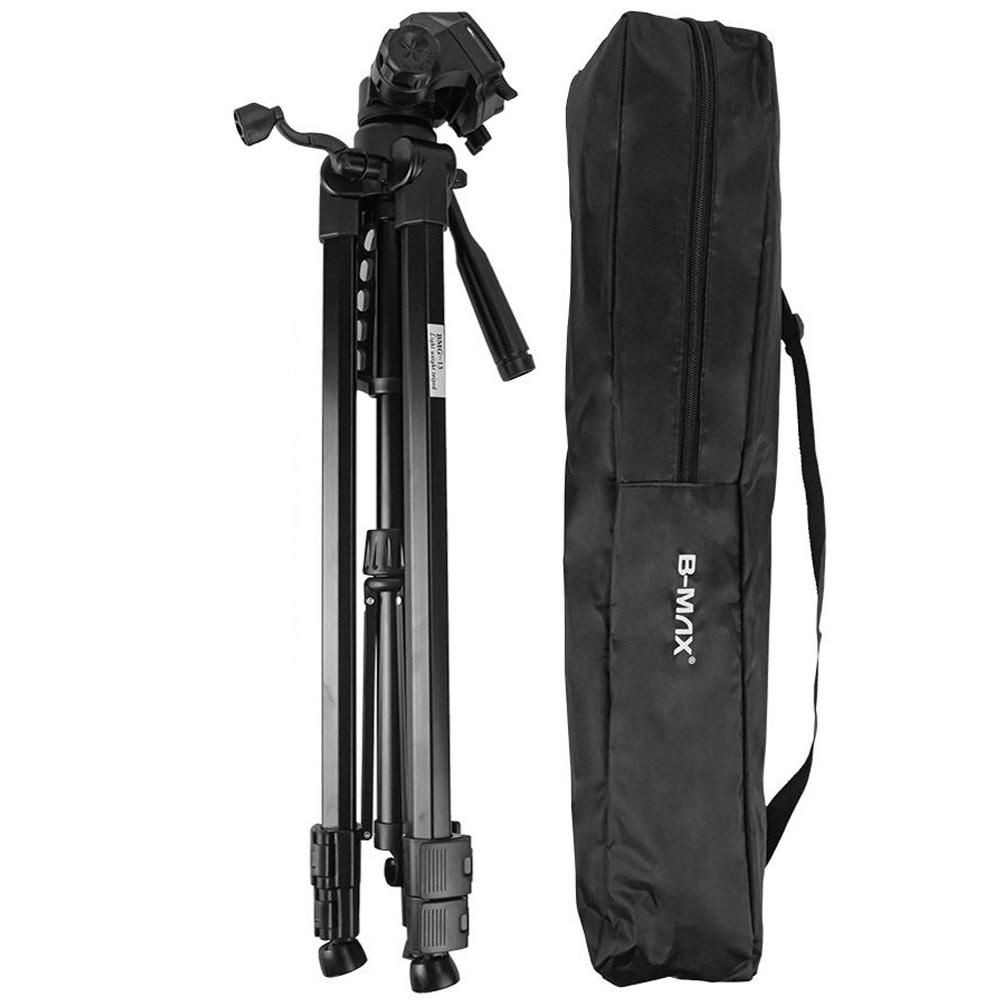 Tripé p/ câmera DSLR smartphone filmadora de alumínio 1.7 m  - RPC-COMMERCE