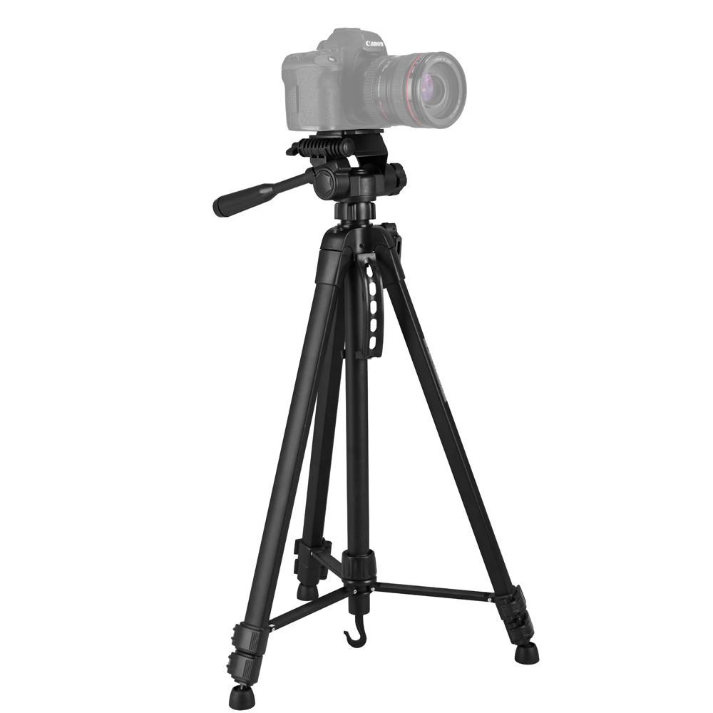 Tripé Profissíonal câmera DSLR smartphone filmadora de alumínio 1.4 m  - RPC-COMMERCE