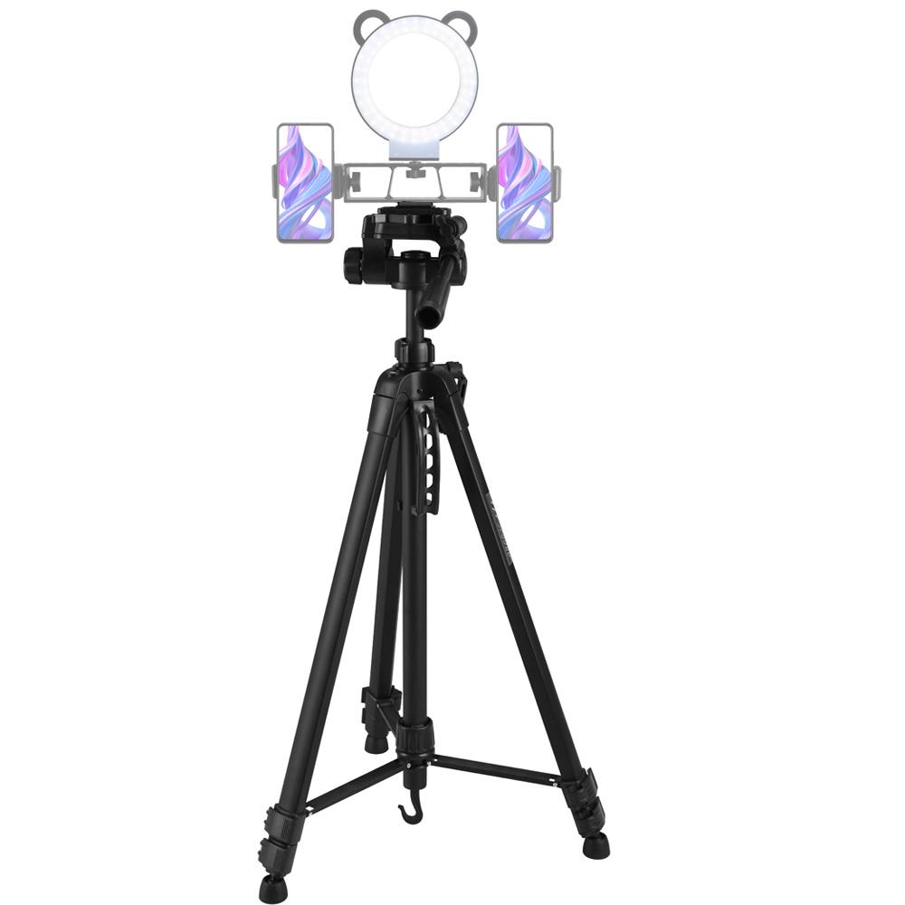 Tripé Profissíonal câmera DSLR smartphone filmadora de alumínio 1.675 m  - RPC-COMMERCE