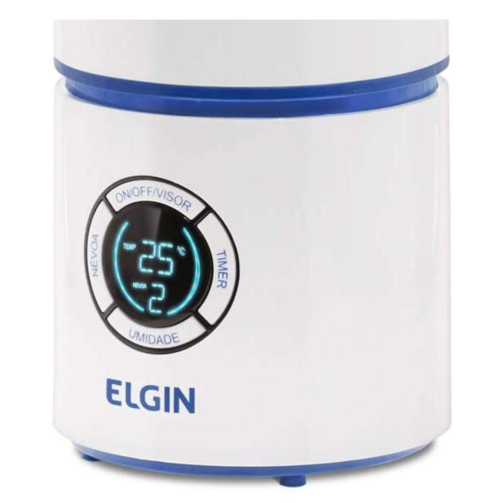 Umidificador De Ar Ultrassônico Elgin 2,5l Digital Bivolt  - RPC-COMMERCE