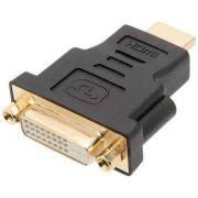 Adaptador DVI 24+1 Fêmea para HDMI Macho Pix