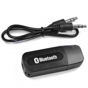 Adaptador Receptor Bluetooth Wireless Usb Musica Carro P2 BT-163