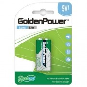 Bateria 9v Long Life Golden Power