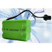 Bateria Ni-MH 7,2V 650mAh 6xAAA