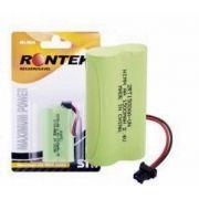 Bateria p/ Telefone S/ Fio 2XAA 2,4V 1500mAh Ni-Mh (Conector Universal) Rontek