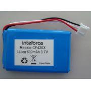 Bateria Recarregável LI-ION 3.7V/800MA CF420X Intelbras