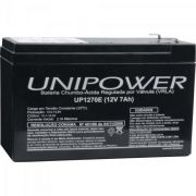 Bateria Selada 12v 7A UP12 UP1270 (Nobreak) Unipower
