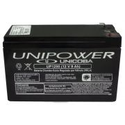 Bateria Selada 12V 9,0AH UP1290 Unipower