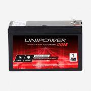 Bateria Selada 12v UP12 Compact Alarme Unipower