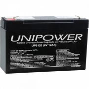 Bateria Selada 6V 12AH UP6120 Unipower