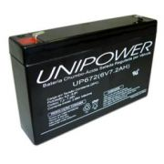Bateria Selada 6V 7,2AH UP672 Unipower