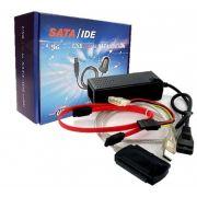Cabo Conversor USB VS2.0 x Sata, IDE 2.5, IDE 3.5 1,80M