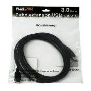 Cabo ExtensorP/ USB 2.0 AM X AF 3.0M PCUSB3002