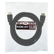 Cabo HDMI 1.4 4K Ultrahd 15 Pinos 2,0mts Chipsce