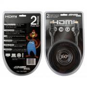 Cabo HDMI 360 Graus Articulado 1.4 4K Ultrahd 2M Ship Sce