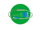 Cabo Óptico Com Divisor Plc (Splitter) 1X16 Sc/Upc Xfs 1161 Intelbras