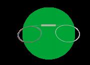 Cabo óptico com Divisor PLC (SPLITTER) 1X4 NC XFS 140 Intelbras