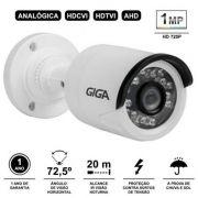 Câmera Bullet 720p Orion IR 20m 1/4 3.2mm IP66 GS0018 Giga