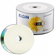 Mídia CD-R 52X 700MB Printable c/ 50UN Elgin