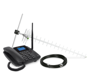 Celular Fixo Gsm CFA 4211 Kit (Cel+Antena+Cabo) Intelbras