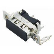 Conector HDMI P/ Circuito Impresso C/ Parafuso 30MM