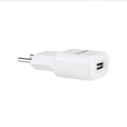 Carregador AC/DC fonte EC1 USB Quick Branco Intelbras