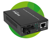 Conversor de Midia Giga WDM-KGSD 1120 B Mono 20 Km Intelbras