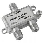 Divisor de Antena 2 Vias 5-900 MHZ Pix