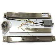 Fechadura Eletroima CLEAN 100 12V S/Sensor Inox Automatiza Intelbras