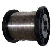 Fio de Aço Inox 0,45mm P/ Cerca Elétrica Rolo c/ 400G