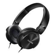 Fone de Ouvido Sistema Acustico Fechado 32 MM SHL3060BK/00 Preto Philips
