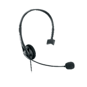 Fone p/ Headset Telefone Mono c/ Volume Preto 42F021N Elgin