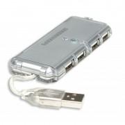 Hub Slim com 4 Portas USB