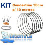 Kit Concertina 30cm p/ 10 Metros