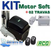 Kit Motor Basculante Taurus 1/3Hp 8S 1.4m + 02 Travas RCG