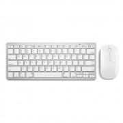 Kit Teclado e Mouse s/ Fio 2.4 Ghz Multimidia Branco USB Slim TC203 Multilaser