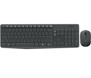 Kit Teclado e Mouse s/ Fio MK235 Logitech