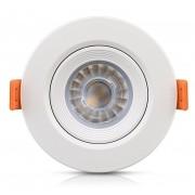 Luminária Embutir Led 5W Ecospot 2700k Redondo Bi-volt Elgin