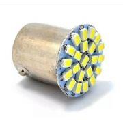 Luz de LED Veicular Branca p/ Freio com 22 LEDs 12V