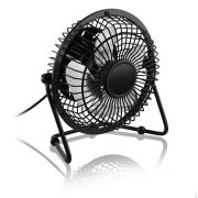 Mini Ventilador USB Preto Lileng 819 Mini Fan